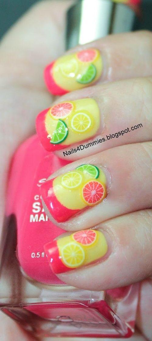 Fresh Fruit Nail Design