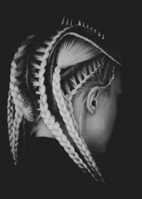 Fabulous Corn Row Hairstyle