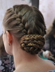 easy and pretty updo hairstyles