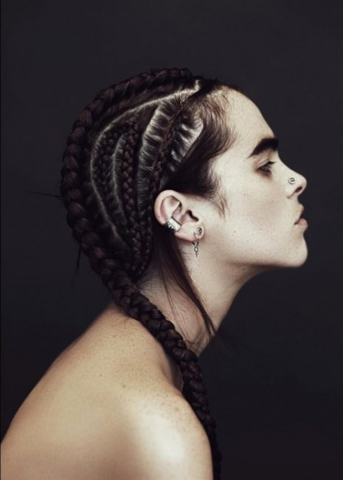 Fashionable Cornrow Hairstyle for 2016