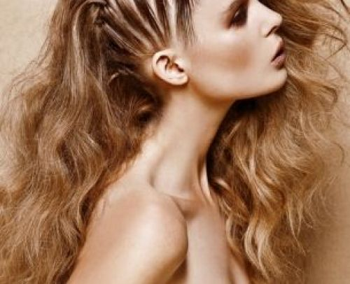 Glamorous Cornrow Hairstyles for Long Hair