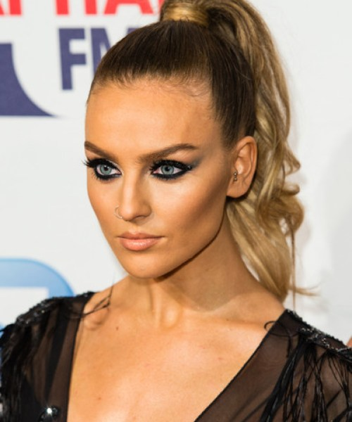 Perrie Edwards High Ponytail