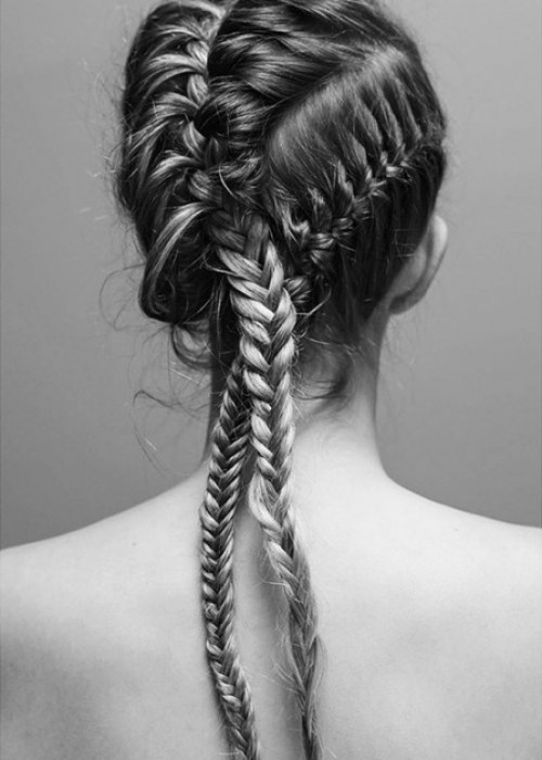 Special Cornrow Hairstyle for Women