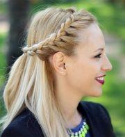 stylish braided updo hairstyle