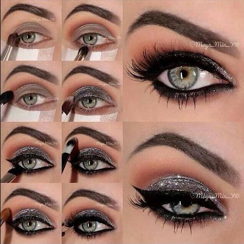 Bigger Eyes Brown Make Look