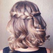 beautiful short braided hairstyles