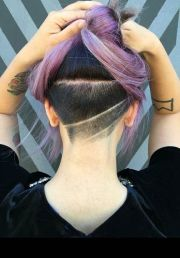 edgy chic undercut hairstyles