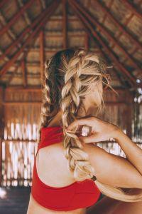 17 Chic Double Braided Hairstyles - crazyforus