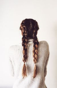 17 Chic Double Braided Hairstyles You Will Love   Styles ...