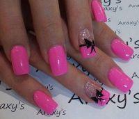 16 Adorable Bow Nail Designs - crazyforus