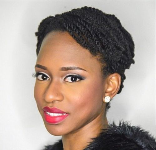 20 Cool Twisted Hairstyles For Natural Hair Styles Weekly