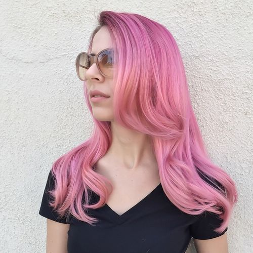 20 Hottest Pink Hairstyles Pink Ombre Pastel Colors