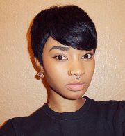 cool african american pixie
