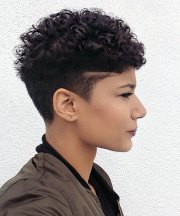african american short pixie