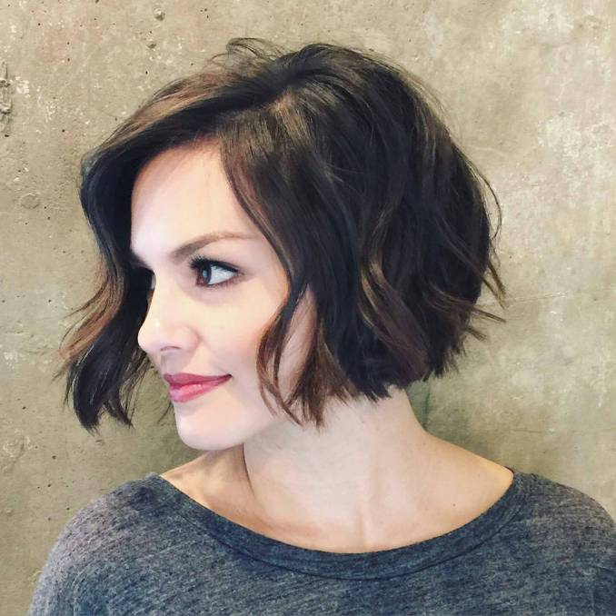 inverted-bob-haircut-for-wavy-hair 2017 | styles weekly