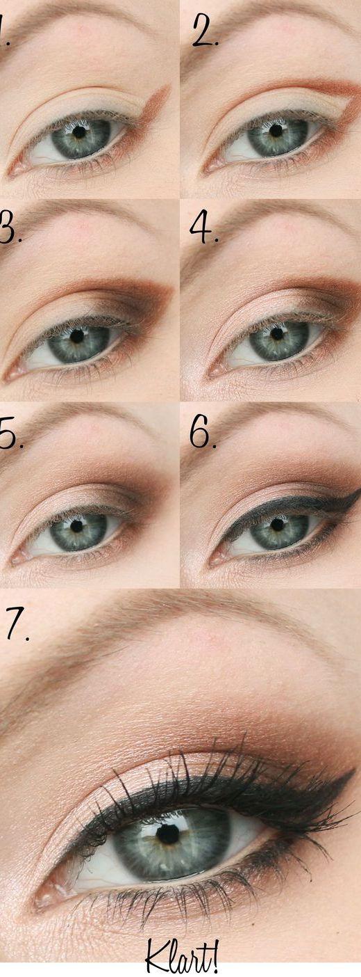 Step By Step Eyeliner Tutorials For Beginners