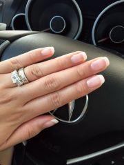amazing french manicure design
