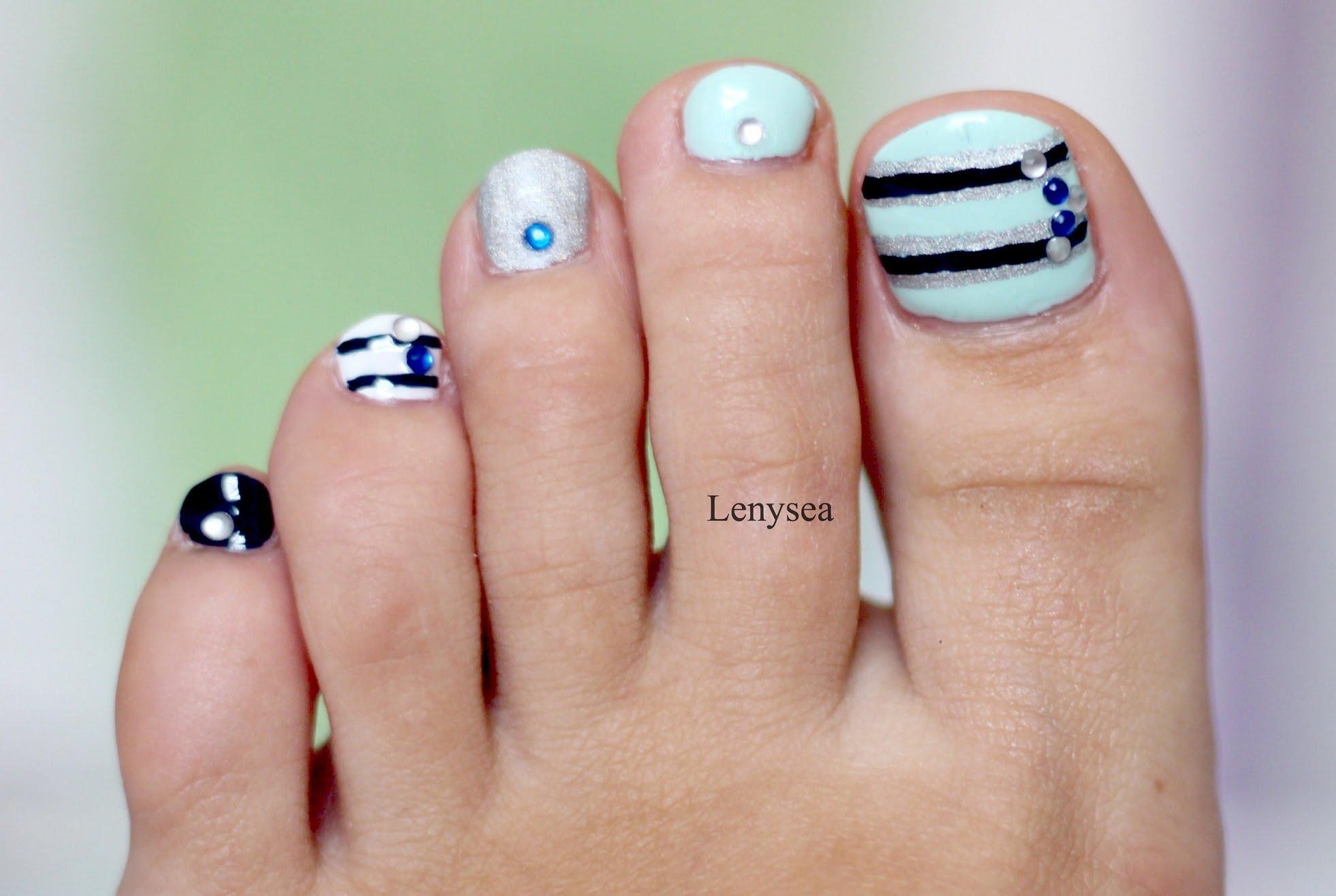 46 Cute Toe Nail Art Designs  Toenail Art Ideas