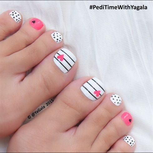 46 Cute Toe Nail Art Designs  Adorable Toenail Designs