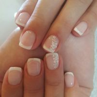 50 Amazing French Manicure Designs  Cute French Nail Arts ...