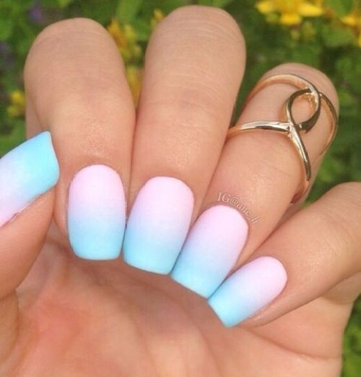 10 Fabulous Ombre Nail Art Designs - crazyforus