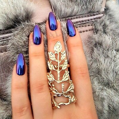 10 Stunning Chrome Nail Ideas To Rock The Latest Nail Trend