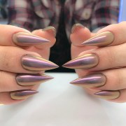 stunning chrome nail ideas