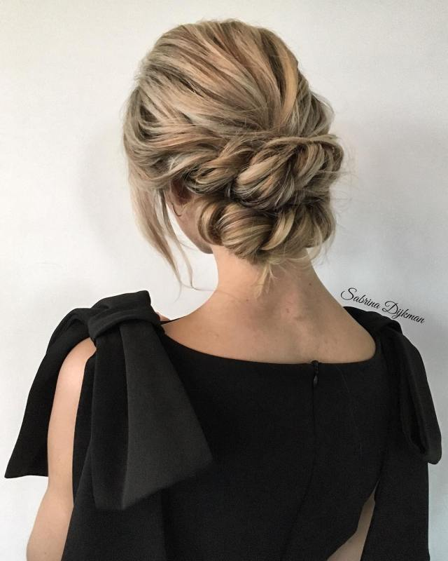 30 beautiful wedding updos for 2018 – elegant updos for