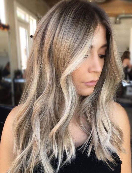Highlights For Dark Hair Summer 2018 35 Fashionable Hair Colors To Try In 2018 Styles Weekly