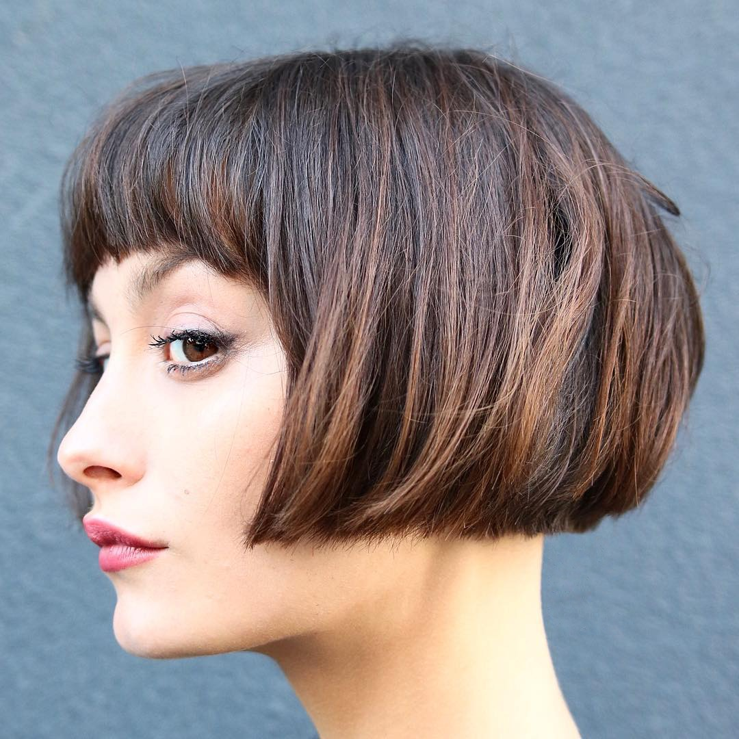 Thick Short Hairstyles