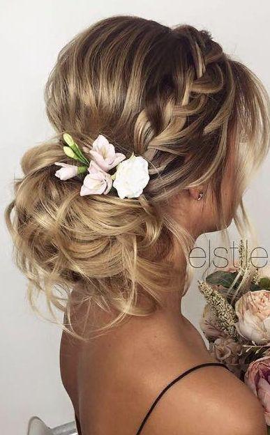 30 Beautiful Wedding Hairstyles  Romantic Bridal Hairstyle Ideas 2019  Styles Weekly