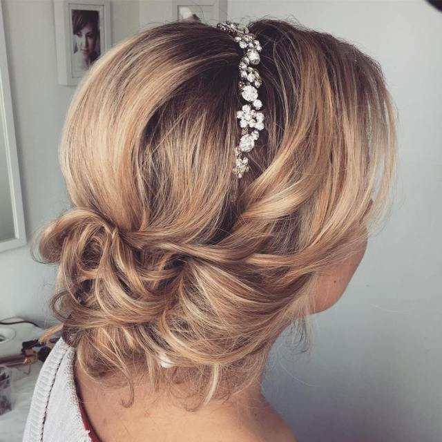30 beautiful wedding hairstyles – romantic bridal hairstyle