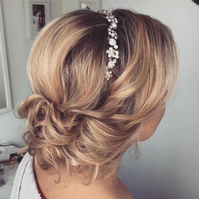 30 beautiful wedding hairstyles – romantic bridal hairstyle