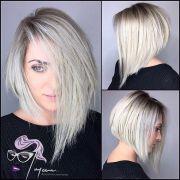 adorable asymmetrical bob hairstyles