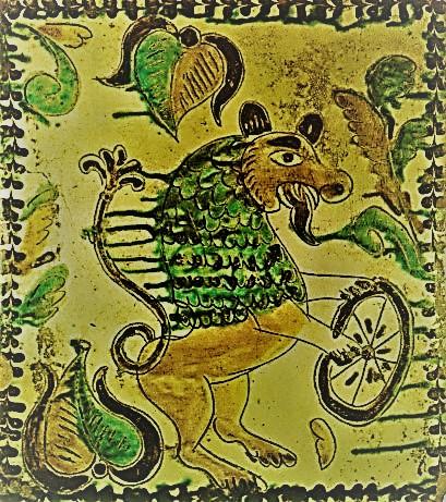Лев з колесом
