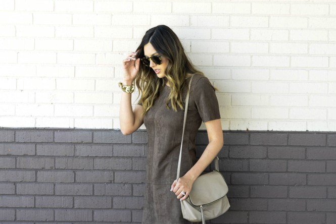 style the girl suede dress1