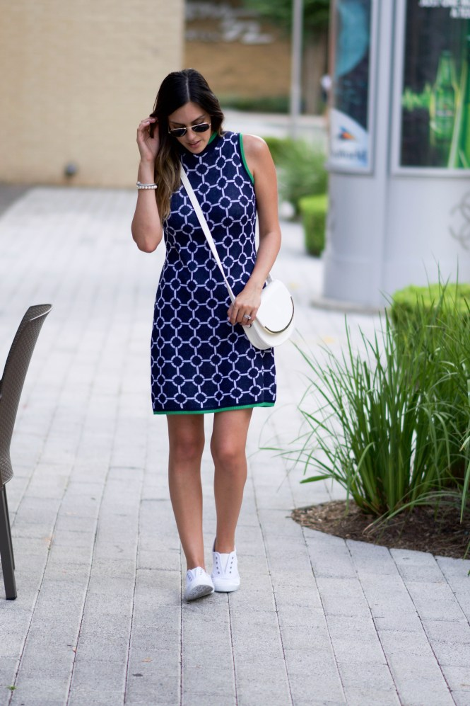 blue tennis dress