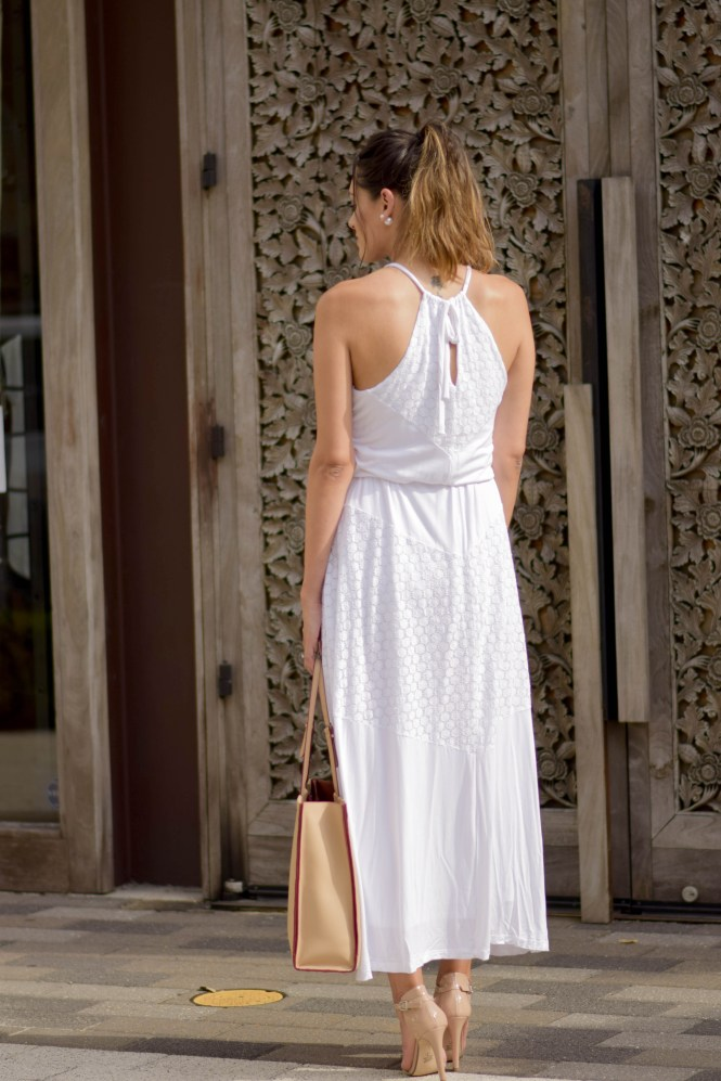 Style The Girl White Maxi Dress 20