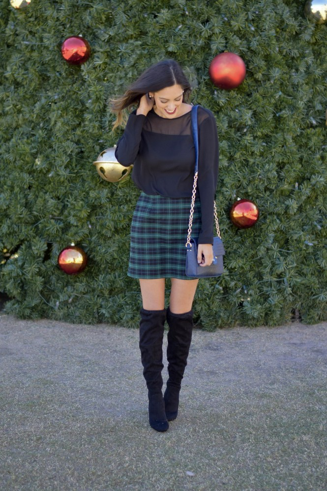 style-the-girl-green-plaid-skirt-12