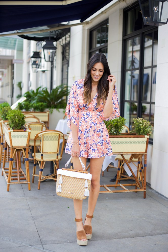 Style The Girl Floral Romper