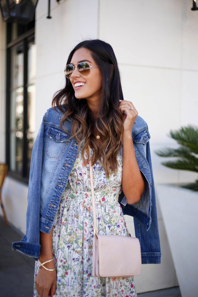 Style The Girl Floral Midi Dress