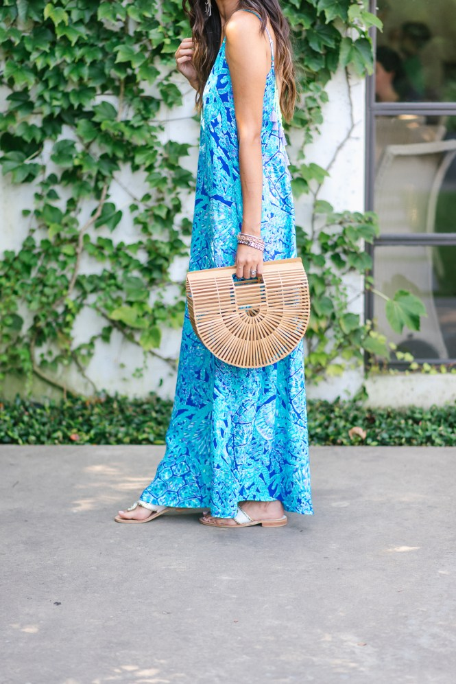 Style The Girl in Lilly Pulitzer Maxi Dress