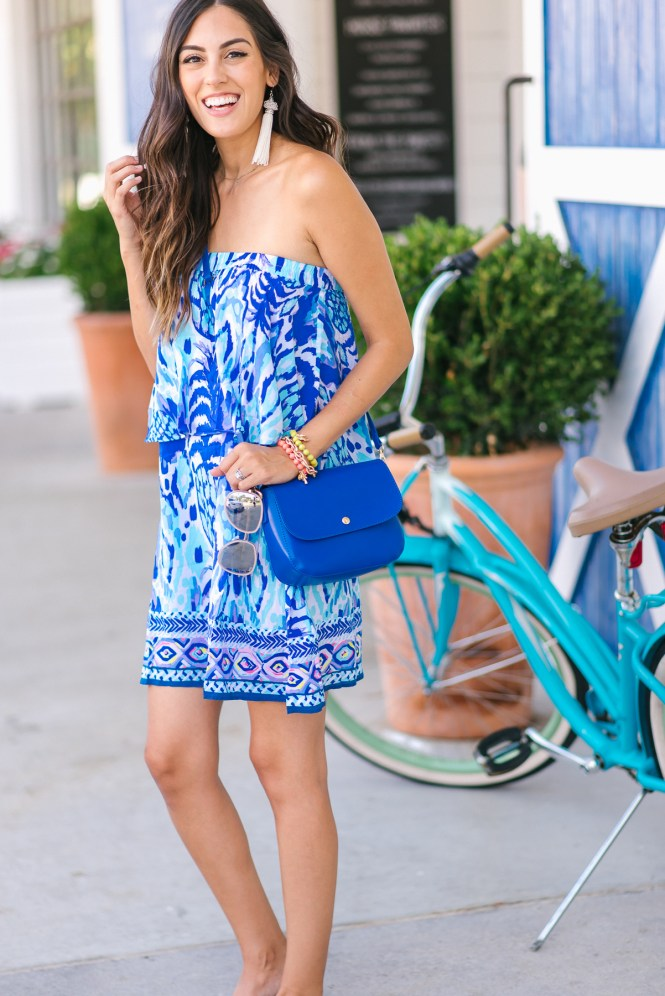 Style The Girl Lilly Pulitzer Strapless Dress