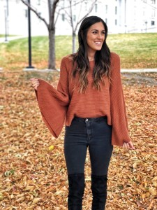 Style The Girl Autumn Leaves at Capital Hill