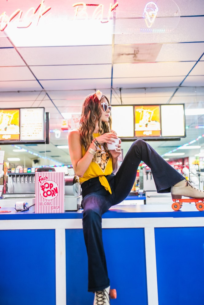 Roller Rink Photoshoot in Houston