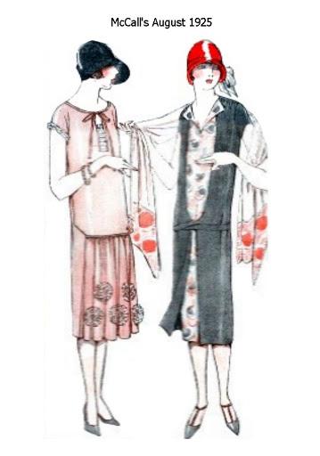 1 1920s fashion sketch - 30+ Cool Fashion Sketches