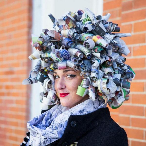 20 Creative Newspaper Craft Fashion Ideas