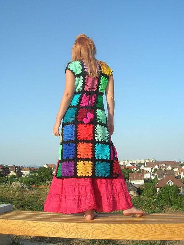 11 rainbow colored dress designs - 30 Gorgeous Rainbow Colored Dress Designs