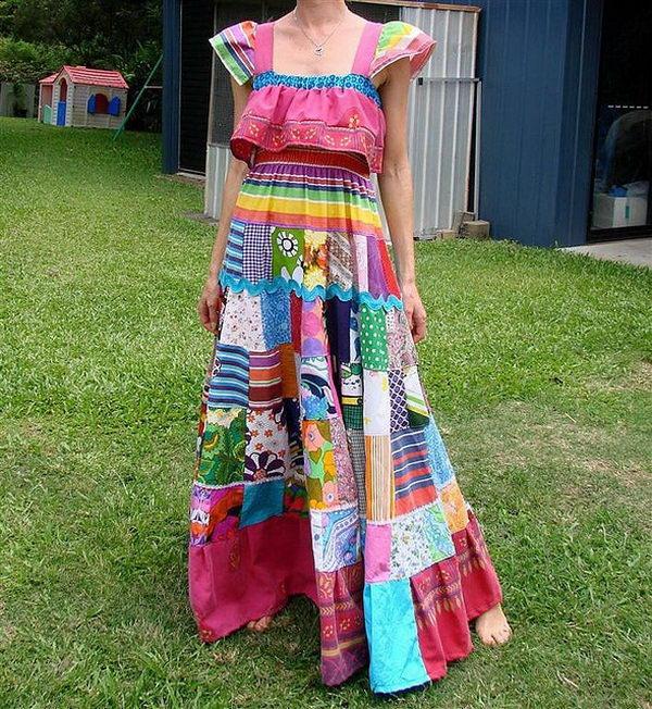 26 rainbow colored dress designs - 30 Gorgeous Rainbow Colored Dress Designs