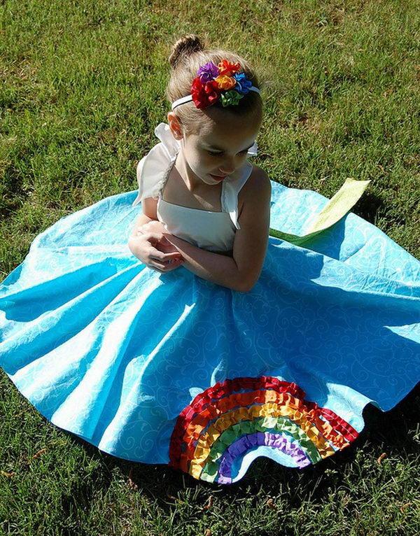 30 rainbow colored dress designs - 30 Gorgeous Rainbow Colored Dress Designs